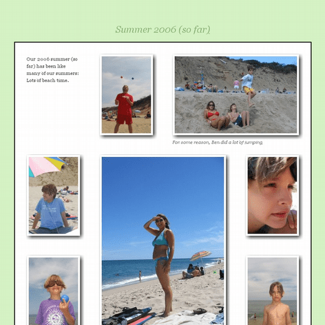 Tabblo: Summer 2006 (so far)