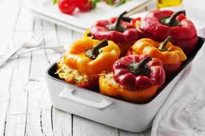 gevulde paprika recept