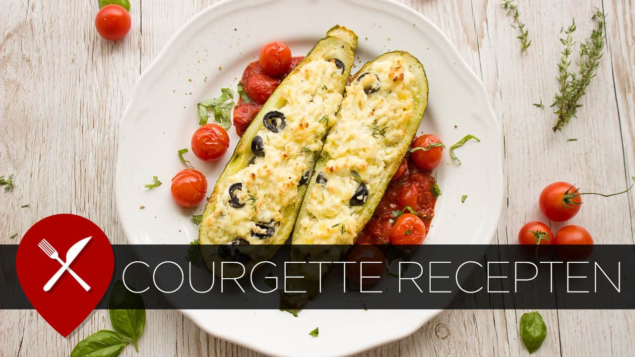recept courgette