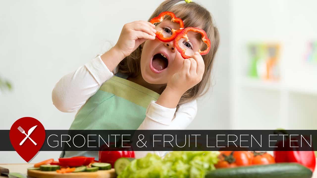 kinderen groente leren eten