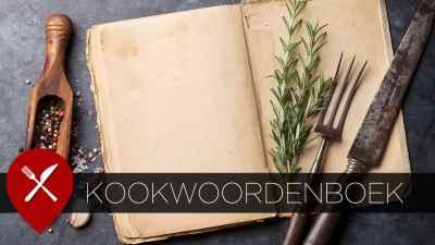 kookwoordenboek