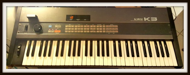 Ned's Kawai K3. Purchased new in 1987.