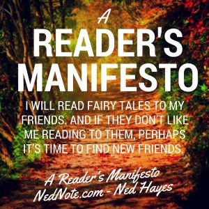 Fairy Tales - Reader's Manifesto