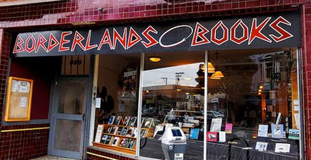 Bookstores: Borderlands in San Francisco