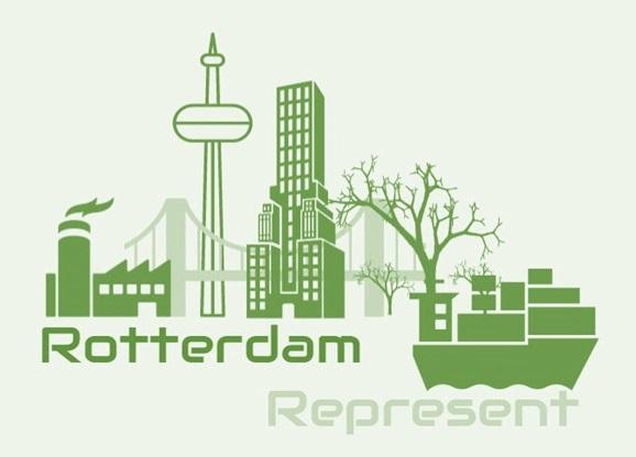 Nieuw soort windmolen in Rotterdam