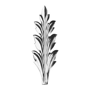 Steel Stamped Leaves