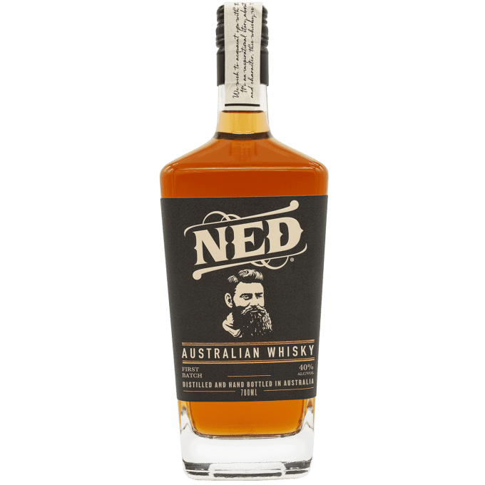 NED Whisky First Batch 700ml Bottle Australian Whisky Front