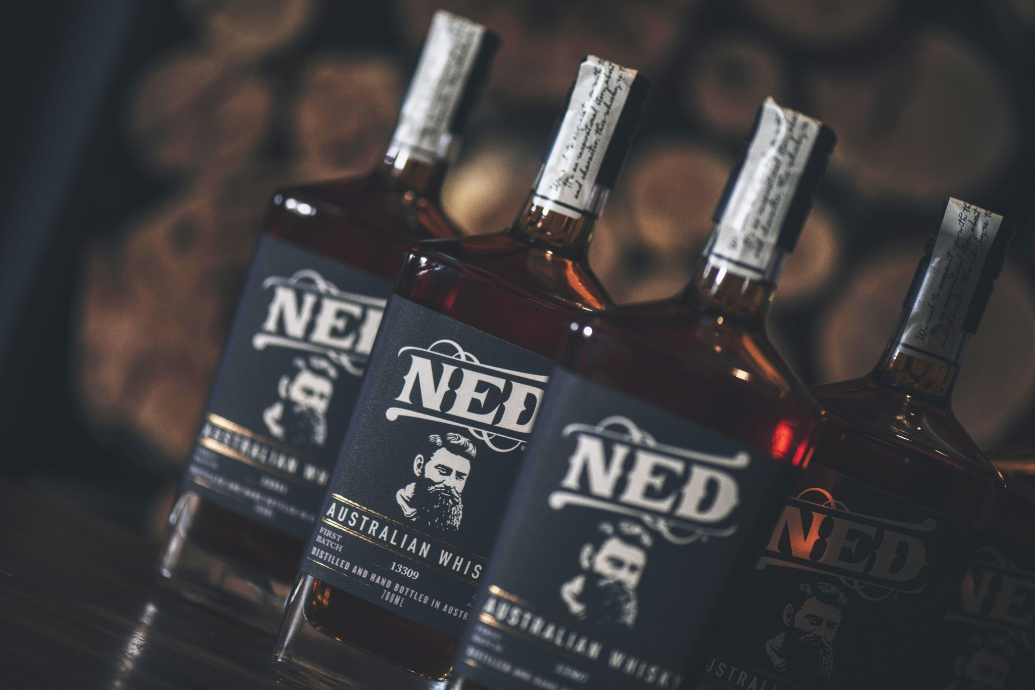 NED Whisky Bottles