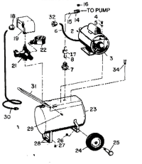 3Z322B Portable Electric Air Compressor Manual- Need An