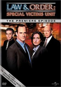 Law and Order: Special Victims Unit: The Premiere Episode DVD cover art