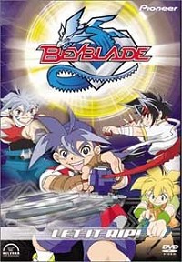 Beyblade, Vol. 1: Let It Rip DVD