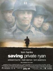 Saving Private Ryan movie poster art
