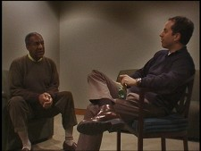 Bill Cosby and Jerry Seinfeld from Comedian
