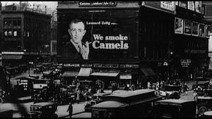 Camels ad from Zelig