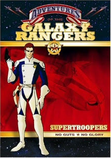 Adventures of the Galaxy Rangers: Supertroopers DVD