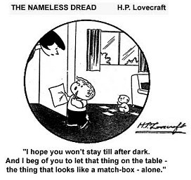 Nameless Dread: Lovecraft/Family Circus mashup
