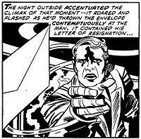 Jack Kirby: The Prisoner art