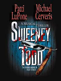 Sweeney Todd revival poster
