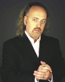 Bill Bailey, working a jacket