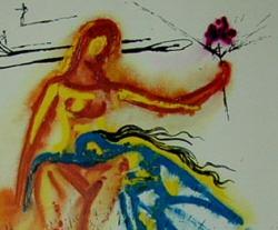 Alice in Wonderland by Salvador Dali