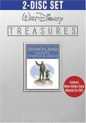 Walt Disney Treasures: Disneyland Secrets, Stories & Magic DVD cover art