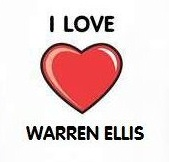 I Heart Warren Ellis t-shirt