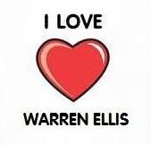 I Heart Warren Ellis t-shirt