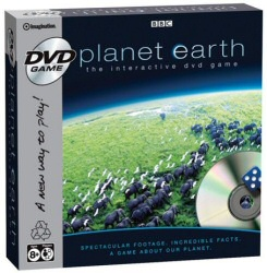 Planet Earth: The Interactive DVD Game cover art
