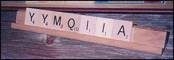 Bad Scrabble