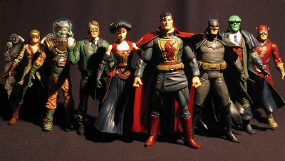 Gaslight Justice League by Sillof