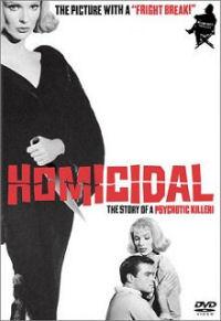 Homicidal DVD box art