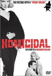 Homicidal DVD box art
