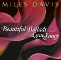 Miles Davis: Beautiful Ballads & Love Songs CD cover art