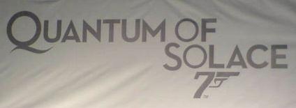 Quantum of Solace 007 Logo