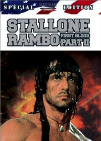 Rambo: First Blood, Part 2 Special Edition DVD cover art