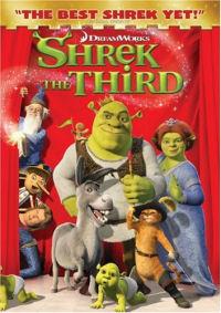 Shrek the Third DVD cover art
