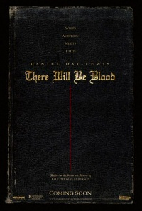 There Will Be Blood movie poster art