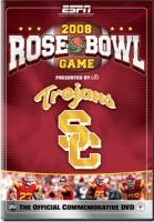 2008 Rose Bowl Game on ESPN DVD Cover Art