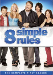 Eight Simple Rules Season 1 DVD Box art