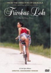Frivolous Lola DVD box art