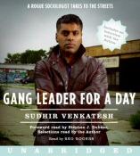 Gang Leader For a Day by Sudhir Venkatesh Audiobook Cover Art