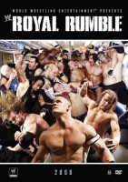 2008 Royal Rumble DVD cover art