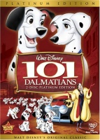 101 Dalmatians DVD cover art