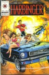 Harbinger #1 cover art