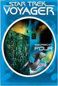 Star Trek: Voyager, Season 4 DVD cover art