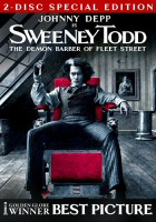 Sweeney Todd 2-Disc Special Edition DVD Cover Art