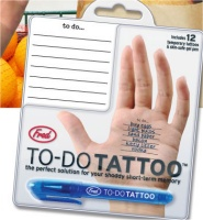 To Do Tattoo from Fred & Friends