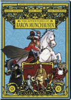 The Adventures of Baron Munchausen DVD Cover Art
