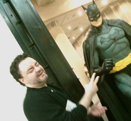 Batman vs. Widge.  Guess who wins?