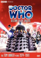 Doctor Who: Destiny of the Daleks DVD Cover Art